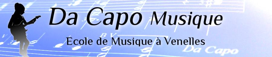 Header Da Capo Musique - Ecole de Musique à Venelles